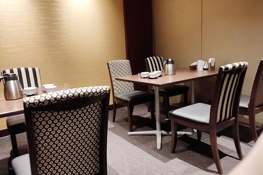 「ダイヤモンドホテル 中国料理 金剛飯店」で「メンズデー 麻婆豆腐麺(1,100円)」のランチ