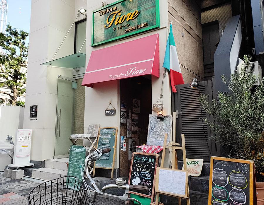 「フィオーレ(Fiore)」で「ラザニア ボローニャ風(1,000円)」のランチ