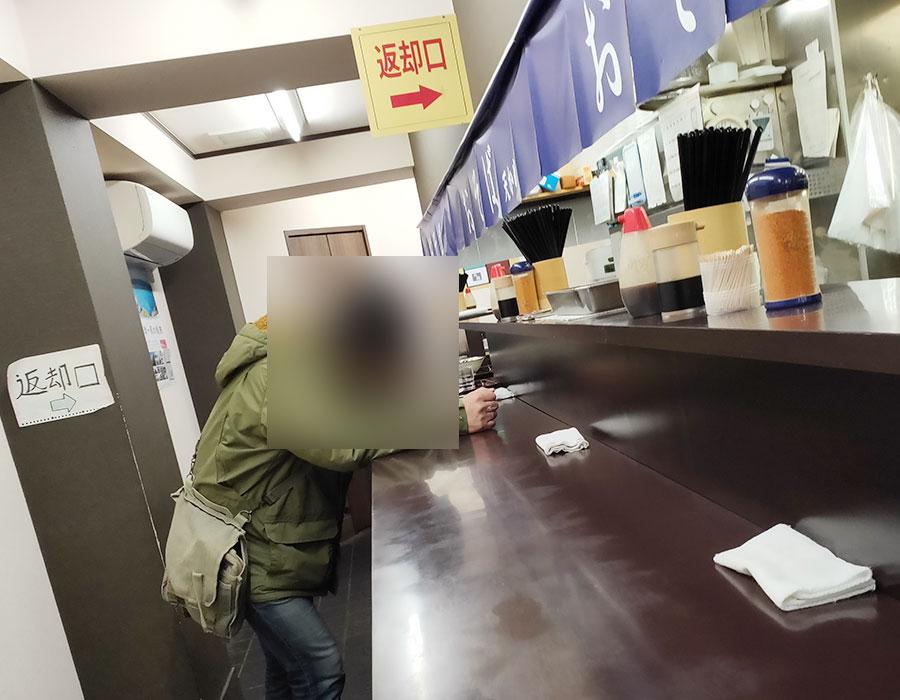「おそば 天かめ 平河町店」で「天丼セット[冷したぬき](550円)」のモーニング[半蔵門]