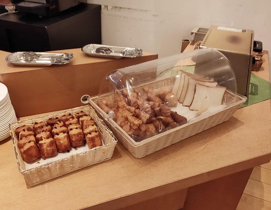 東京グリーンパレス「食彩厨房 ジャルダン」で「モーニングビュッフェ(1,200円)」[麹町]