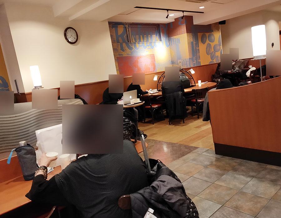「カフェ・ベローチェ 一番町店」で「モーニングセット[B](420円)」[半蔵門]