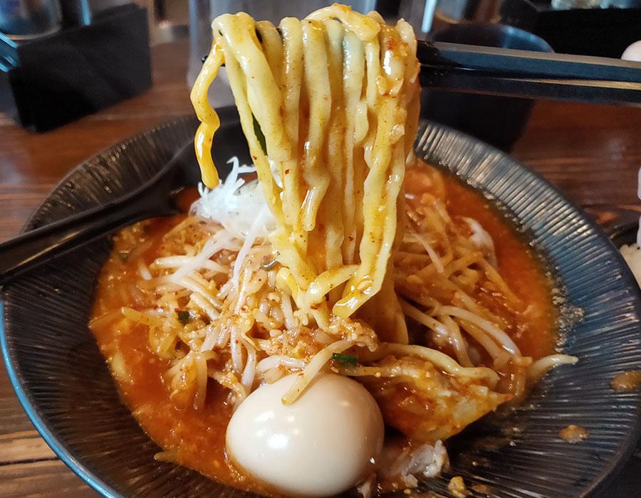 「大塚屋」で「辛味噌ラーメン(750円)」