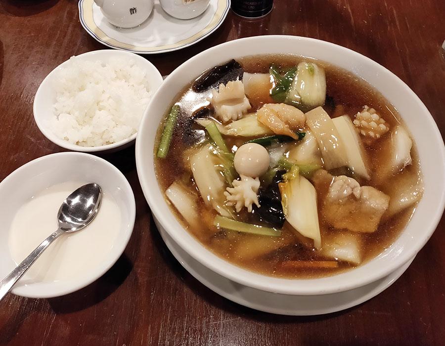 「チャイナRai 中国料理(ライ)」で「五目そば(1,000円)」のランチ