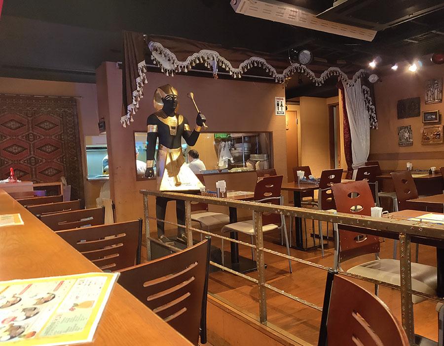 「シディークパレス四谷麹町店」で「2カレーターリー(1,300円)」のランチ[四ツ谷]
