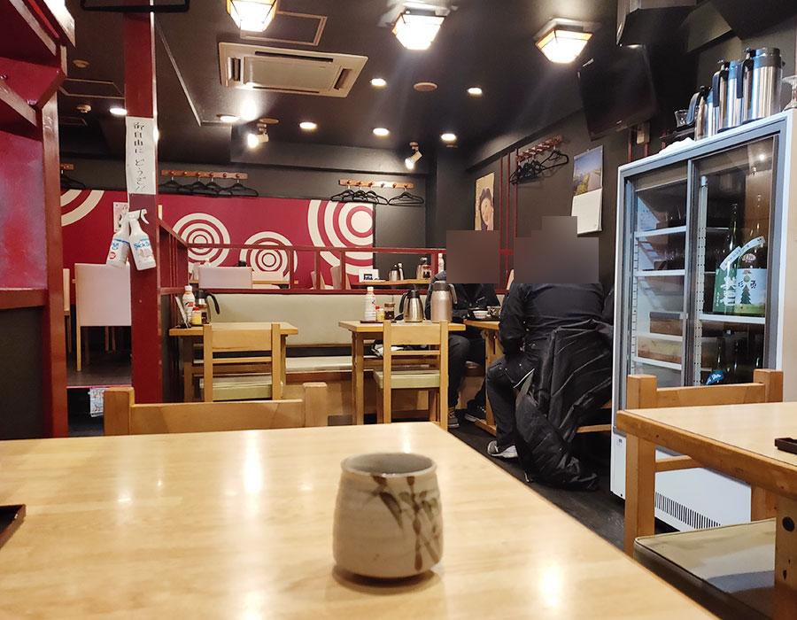 「味彩酒房 仁 麹町」で「さんぞく焼定食(900円)」のランチ