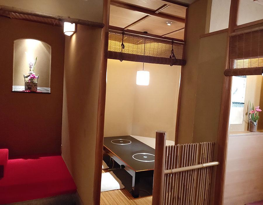 「寿白」で「壬生すき鍋(1,980円)」のランチ[九段下]