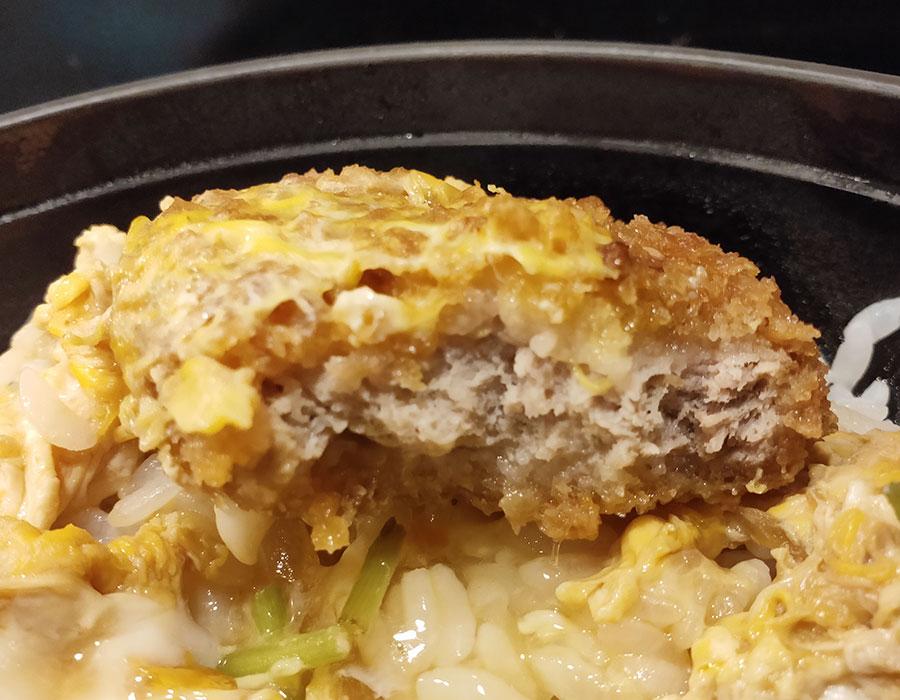 「小諸そば 麹町店」で「満腹 ヒレカツ丼セット(700円)」