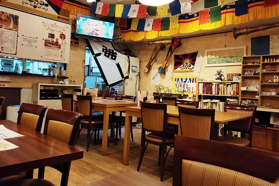 チベット料理「タシデレ」で「ピンシャセット(1,100円)」のランチ