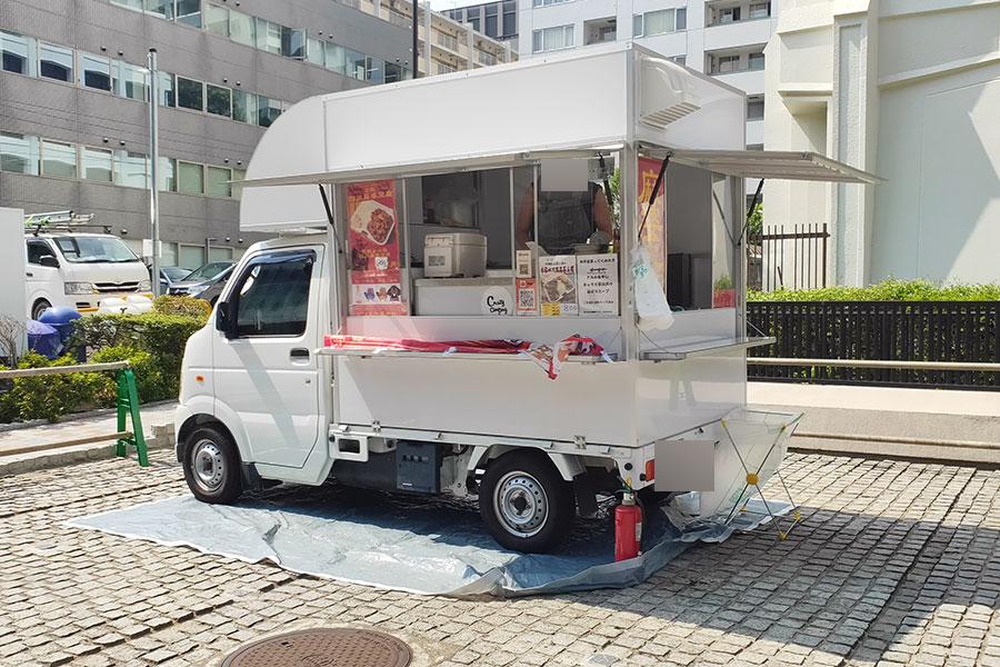 「ぐでんぐでん」で「四川麻婆豆腐丼(800円)」のキッチンカー