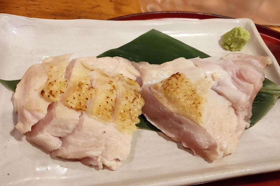 「お好み焼き 文字平」で「伊達鶏胸肉のたたきランチ(1,000円)」[麹町]
