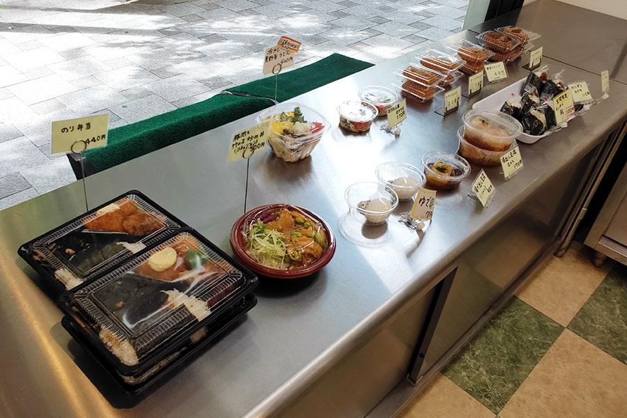 「お膳屋 麹町店」で「のり弁当(440円)」