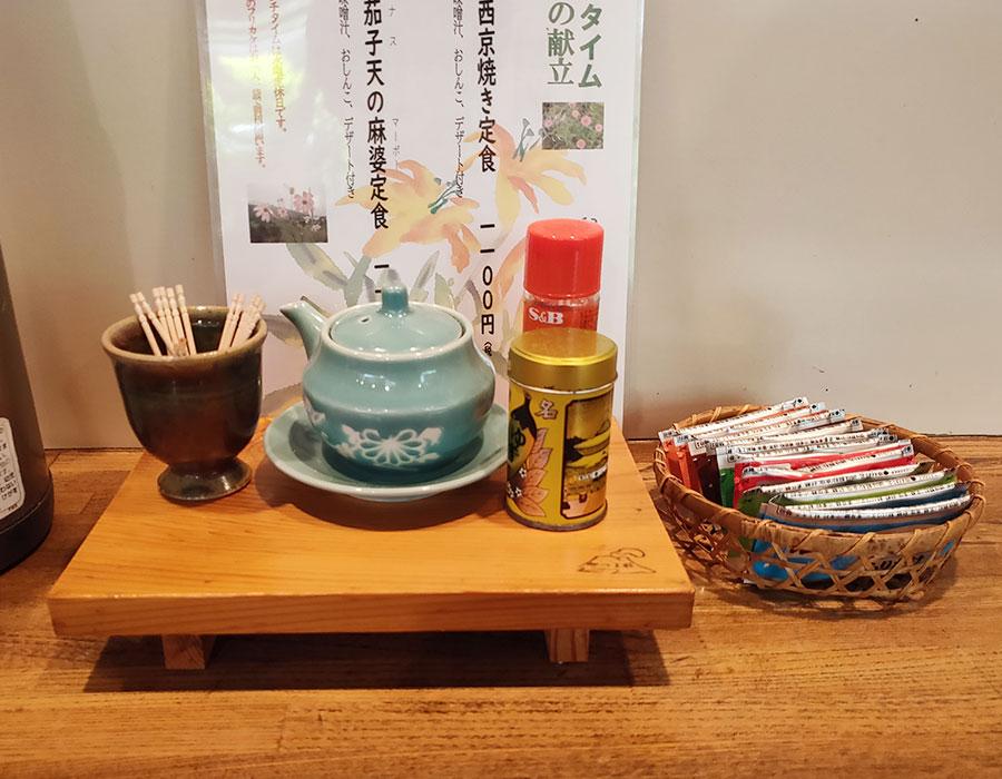 「酒菜屋 かみや」で「赤魚の西京焼き定食(1,100円)」のランチ