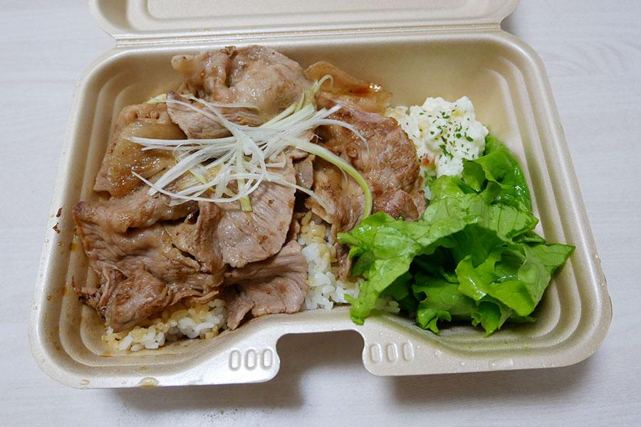 「BULL DOG CAFE」で「十勝豚丼[並](700円)」のキッチンカー[半蔵門]