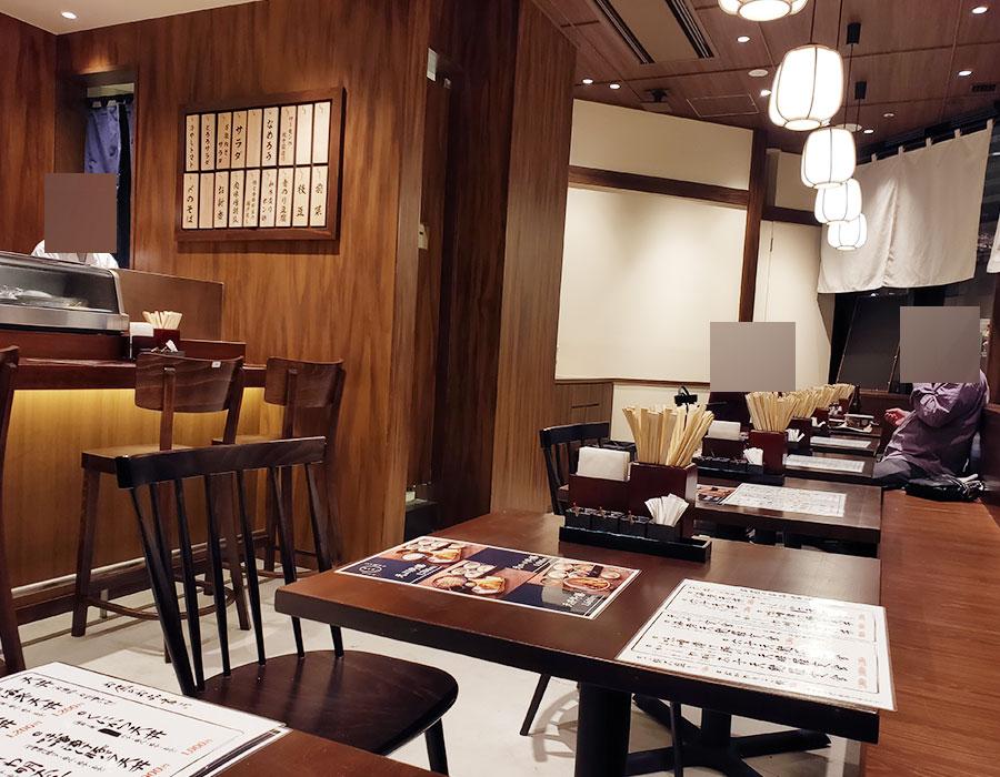 「江戸前天ぷら くにかつ」で「くにかつ天丼(1,100円)」のランチ[コモレ四谷]