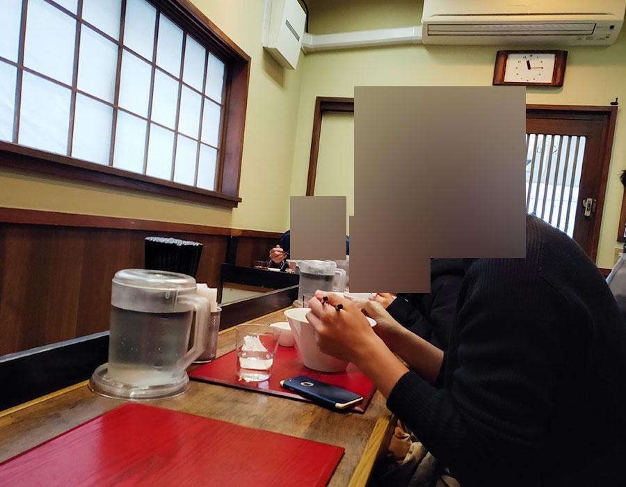 「神保町 黒須」で「塩蕎麦(1,100円)」[九段下]