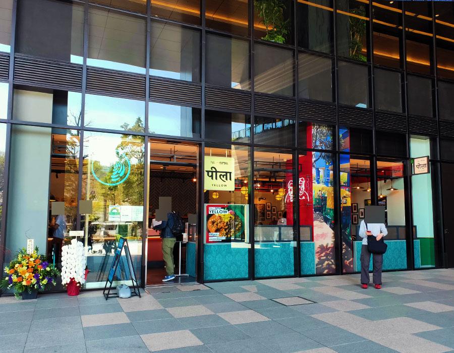 「カレー専門店 YELLOW」で「カレーの3乗(1,090円)」[コモレ四谷]